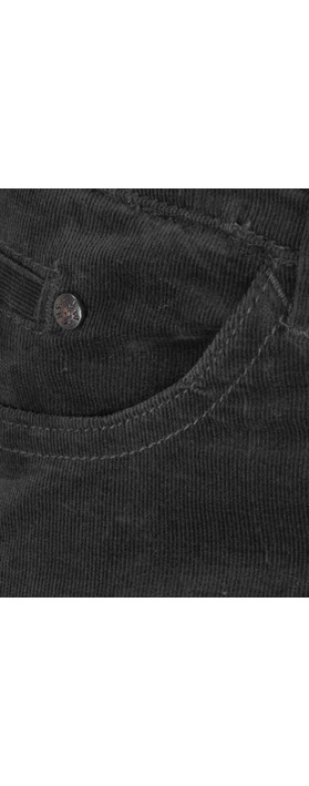 Sandwich Clothing Corduroy Skinny Pants Black