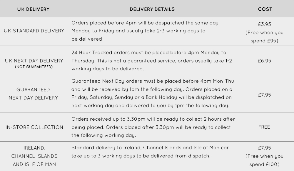 UK Delivery
