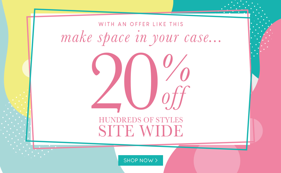 20% Off Site Wide 18-06