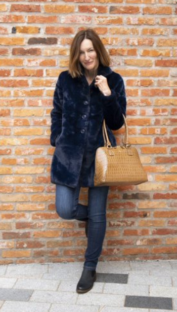 Rino & Pelle Nonna Faux Fur Coat