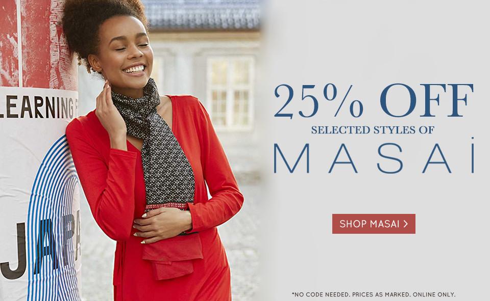 25% OFF Masai 20-05