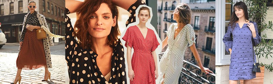 How To Wear The Polka Dot Trend