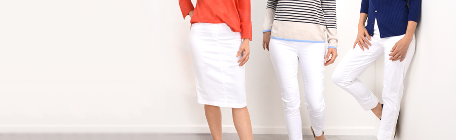 Robell Trousers - Ways to Wear White