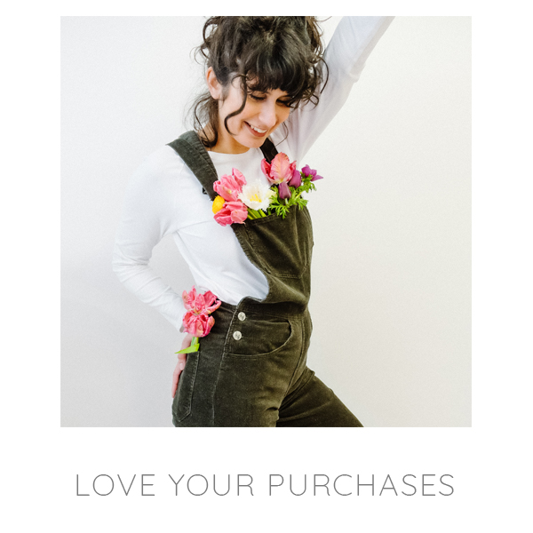 10-03 Personal Shopping - Love Your Purchases