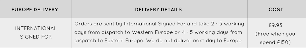 Europe Delivery