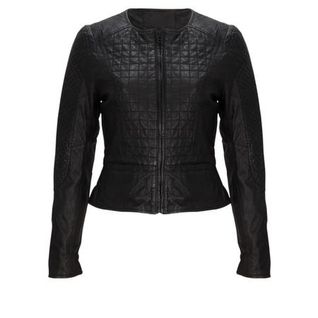 InWear Sola Leather Jacket - Black