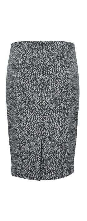HOBBS Alina Skirt Black / White