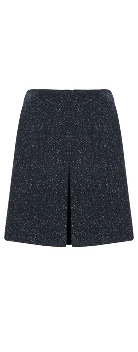 HOBBS Holly A-Line Skirt Navy