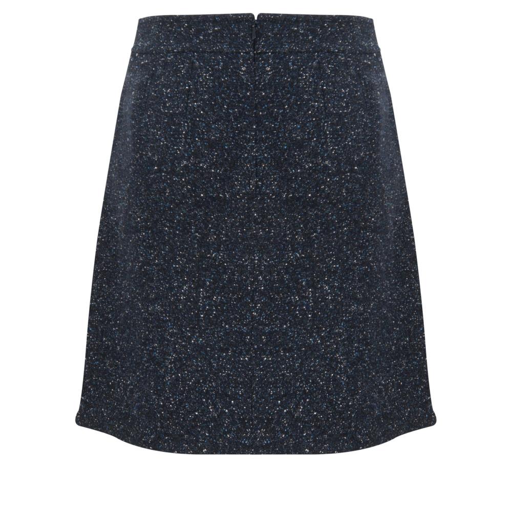 HOBBS Holly A-Line Skirt Navy