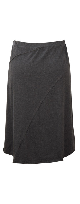 Sandwich Clothing Brushed Jersey Skirt Black