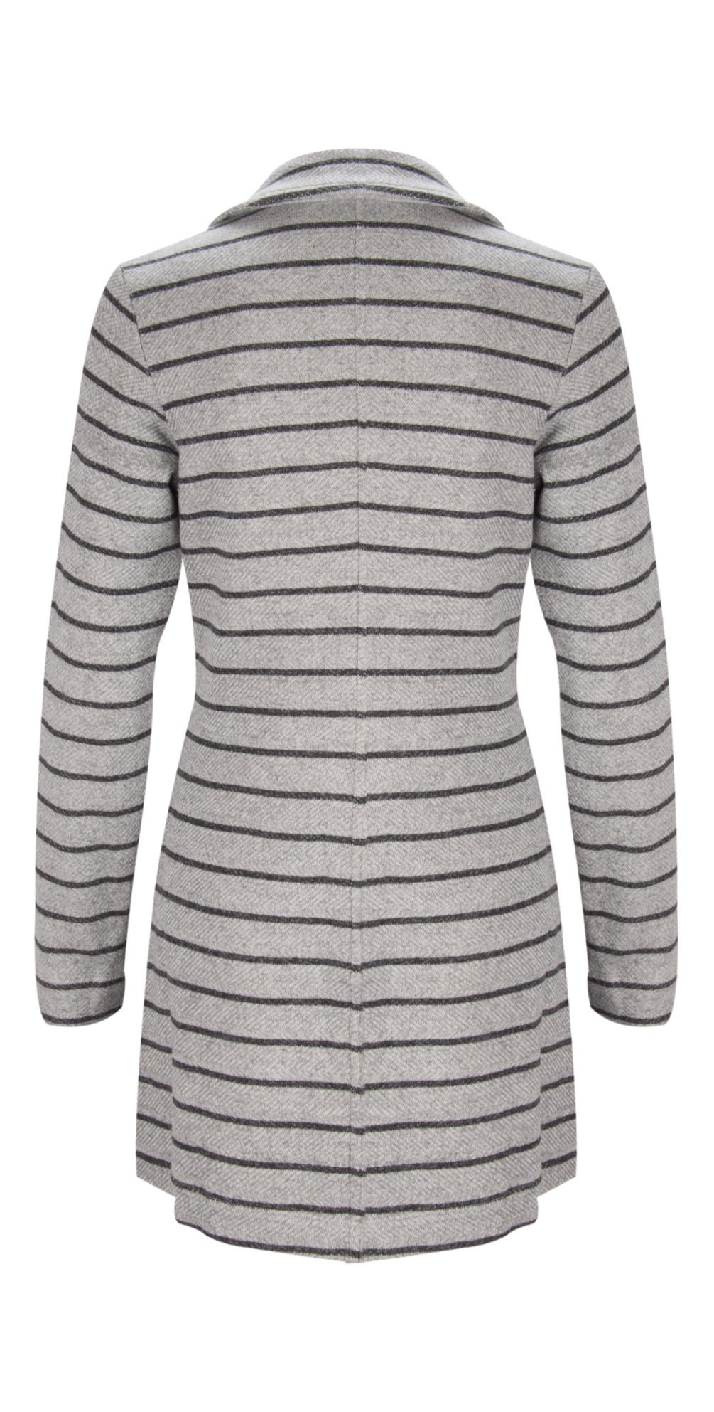 Long Striped Blazer main image