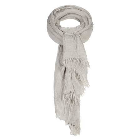 Sandwich Clothing Solid Crinkle Scarf - Bronze