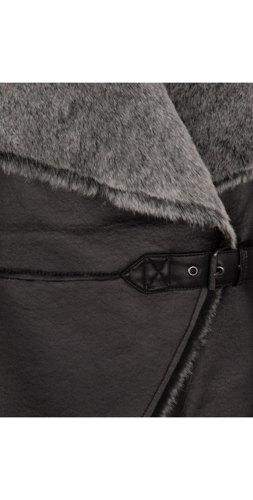 Baa Baa Faux Fur Gilet main image