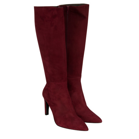 Sachelle High Heel Long Boot - Red