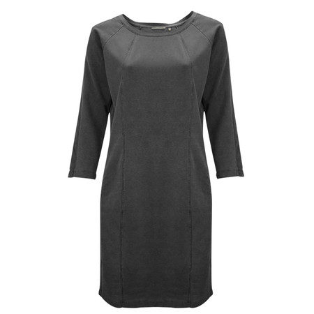 Sandwich Clothing French Terry Dress - Black