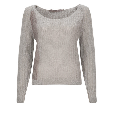 Sandwich Clothing Mohair Pullover  - Bronze