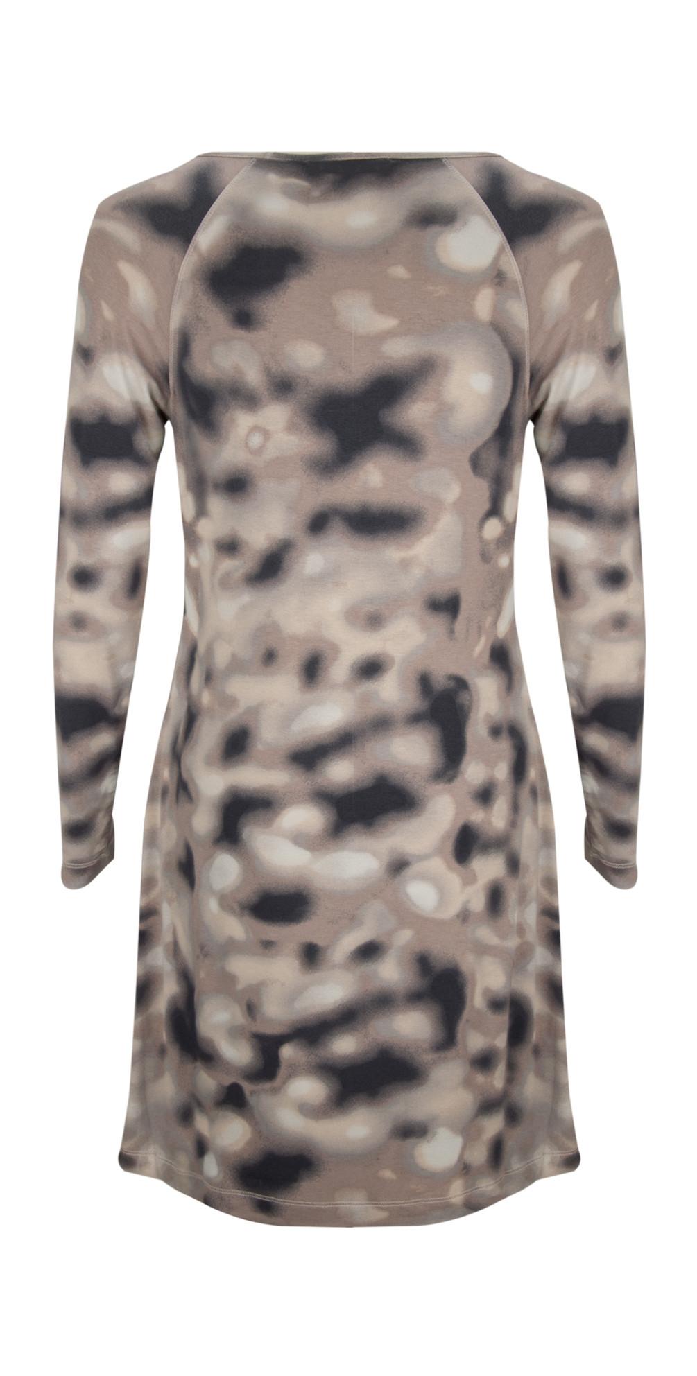 Blurred Spots Jersey Dress main image