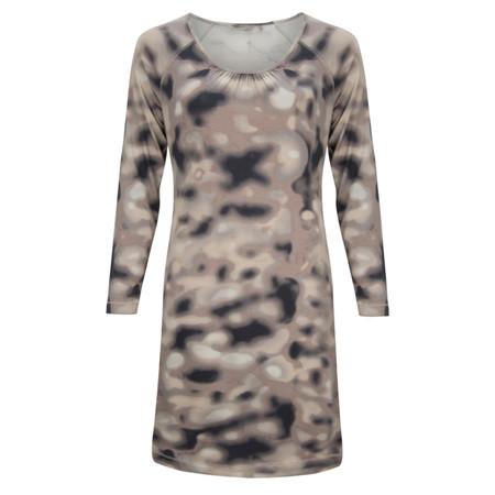 Sandwich Clothing Blurred Spots Jersey Dress - Bronze
