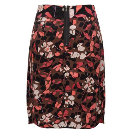 Noa Noa Ely Silk Skirt - Red
