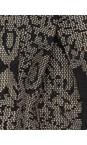 Masai Clothing 111-CreamPrint Printed Along Scarf