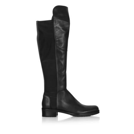 Kennel Und Schmenger Blues Leather Long Flat Boot - Black