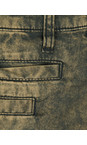 Sandwich Clothing Copper Gold Acid Wash Skinny Pants