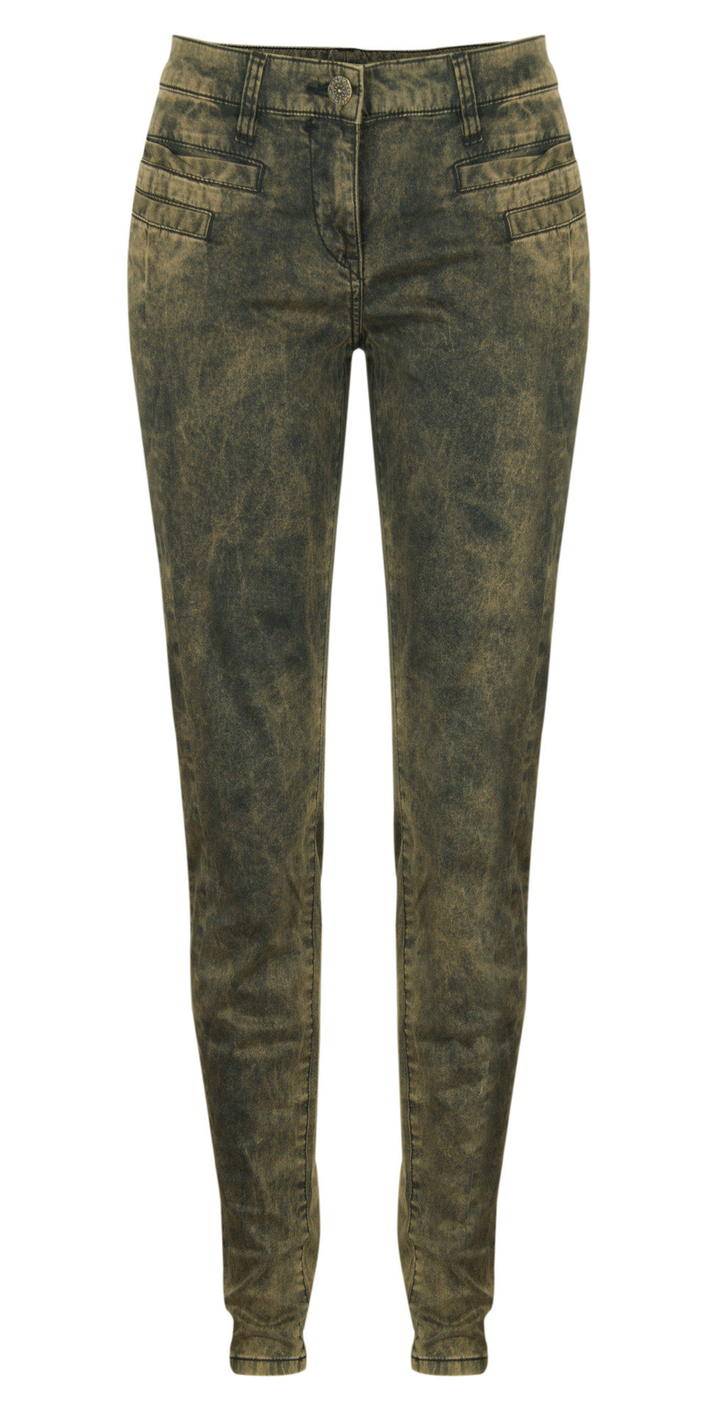 Acid Wash Skinny Pants main image