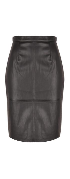 Great Plains Rapture Seam Detail Skirt Black