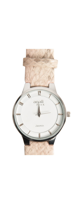 Anaii Jasmin Midi Dial Watch Nude