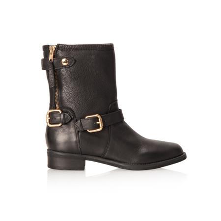Cara Footwear Reis Buckle boot - Black