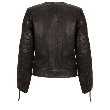 InWear Sade Leather Jacket - Black