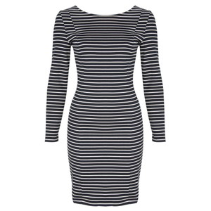 Petit Bateau Stripe Bow Dress