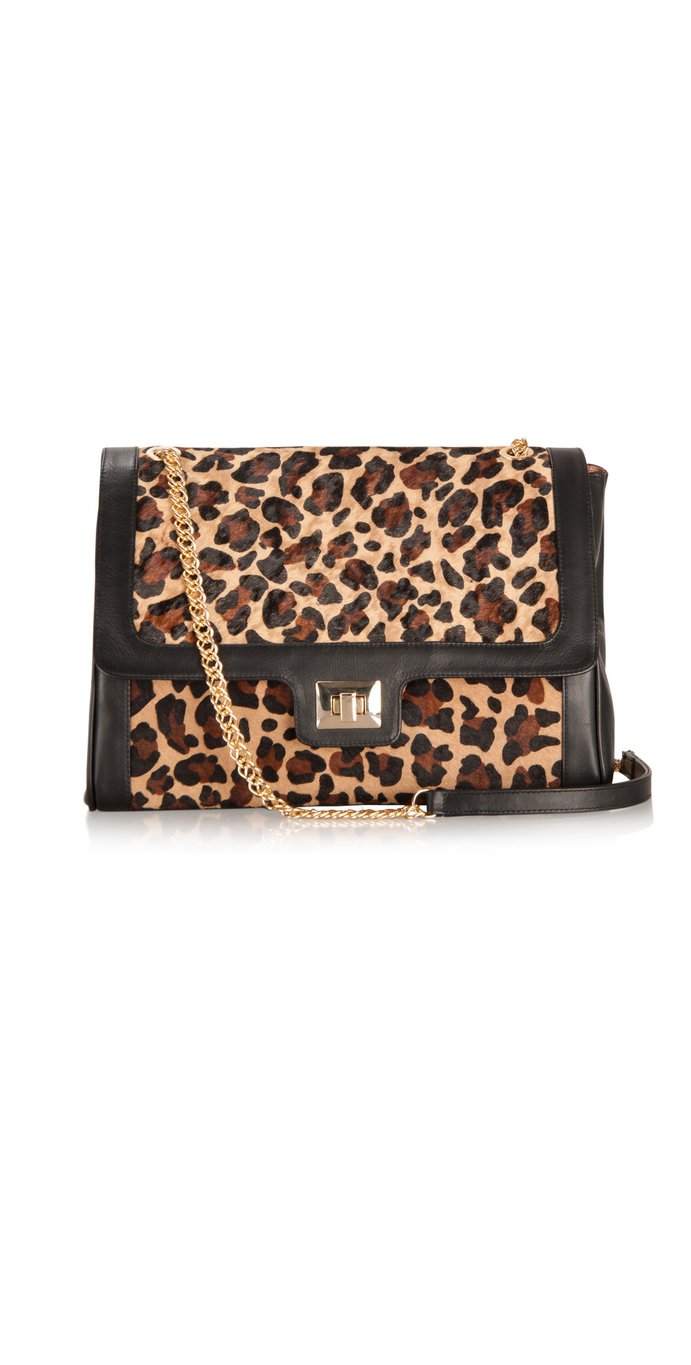 Leopard Print Leather Bag main image