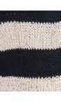 Sandwich Clothing Dark Sky Cotton Chenille Striped Cardigan
