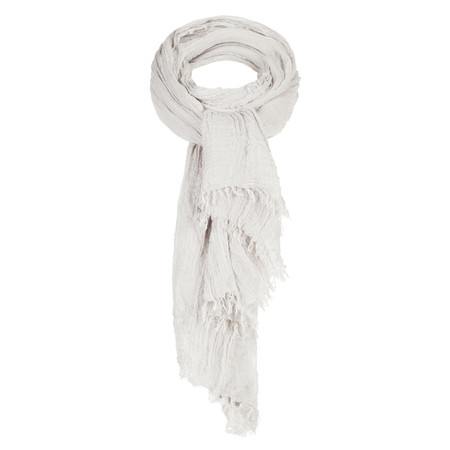 Sandwich Clothing Solid Viscose Scarf - Off-white