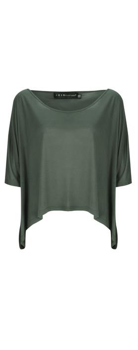 Join Clothes  NEW - Leto Tetragoni Short Blouse Olive