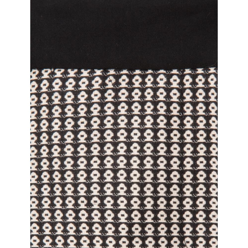 Great Plains Jolie Jacquard Trousers Black/Seasalt