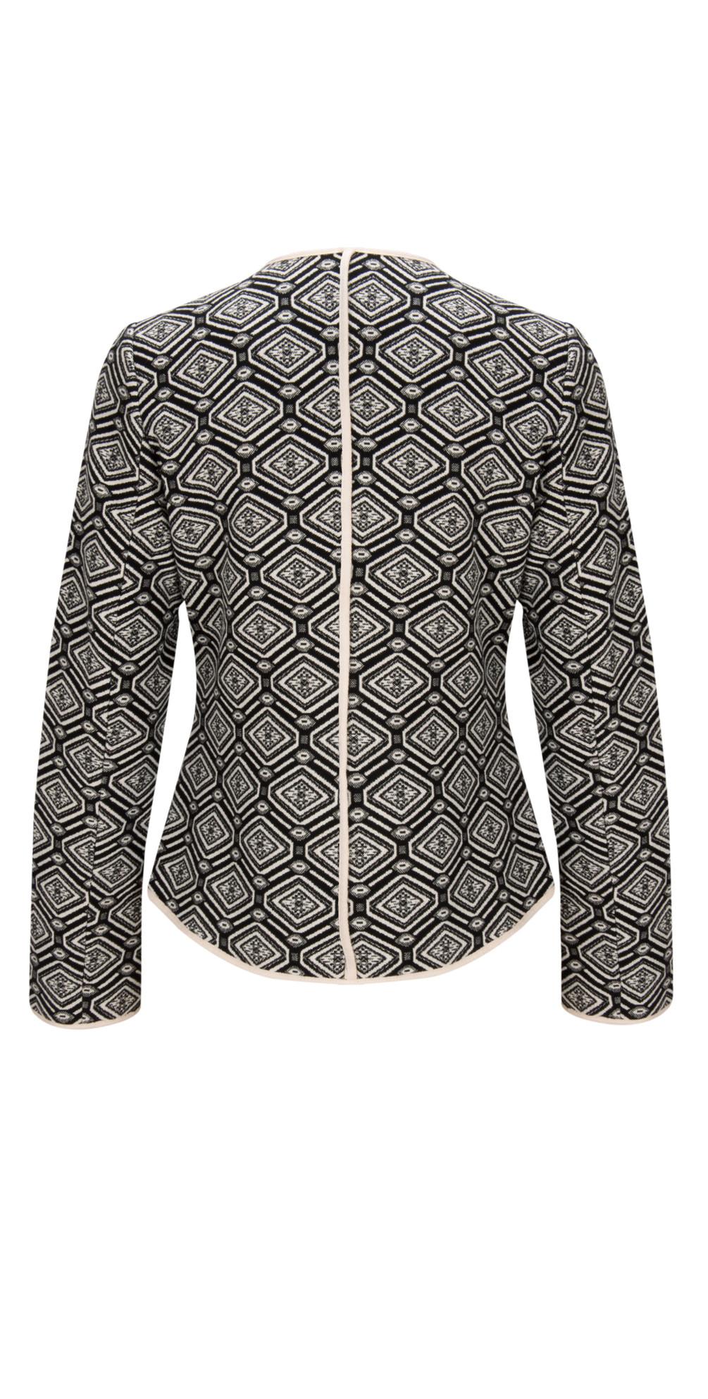 Short Jacquard Coat main image