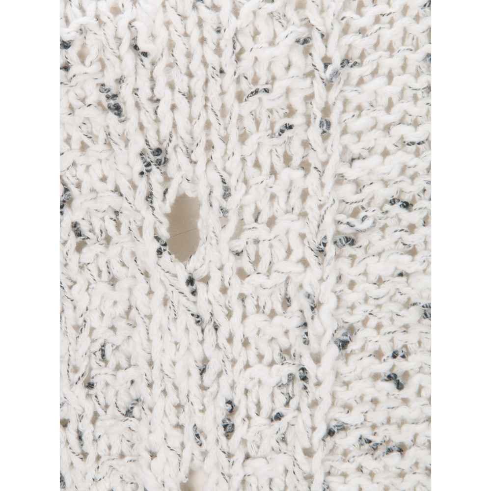 Sandwich Clothing Mix Cotton Tape Pullover Off-White
