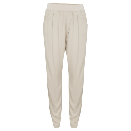 Sandwich Clothing Sienna Twill Pants - Beige