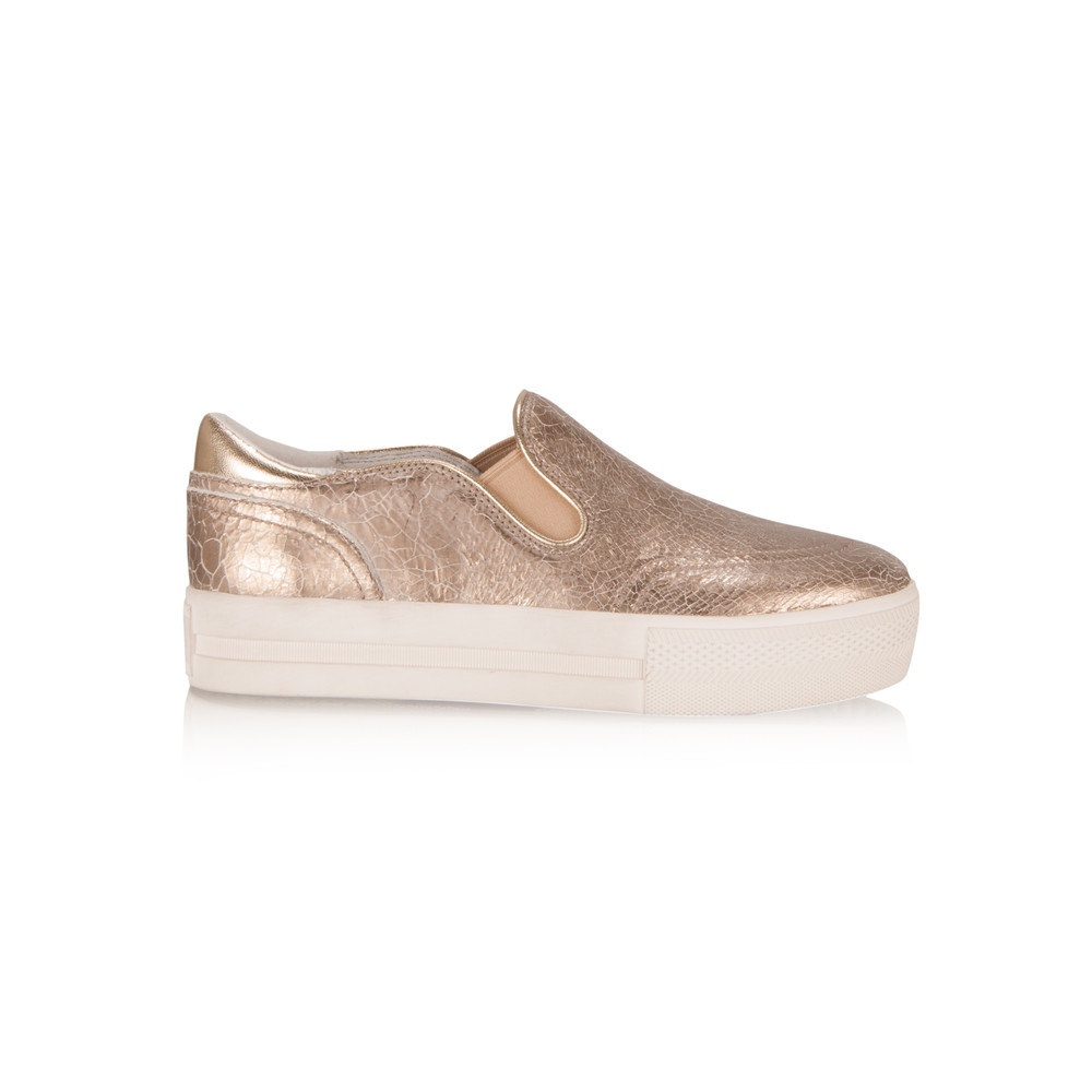 Ash NEW - Jungle Trainer Shoe Gold