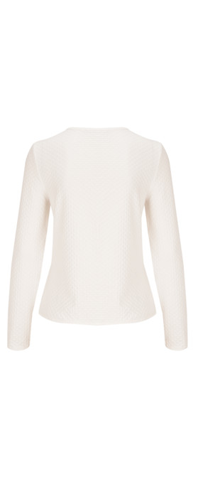 Sandwich Clothing Structured Jersey Jacket Off-White
