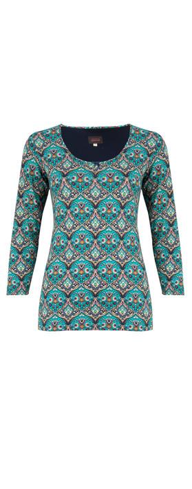 Avoca Cloisonne T-Shirt Multi
