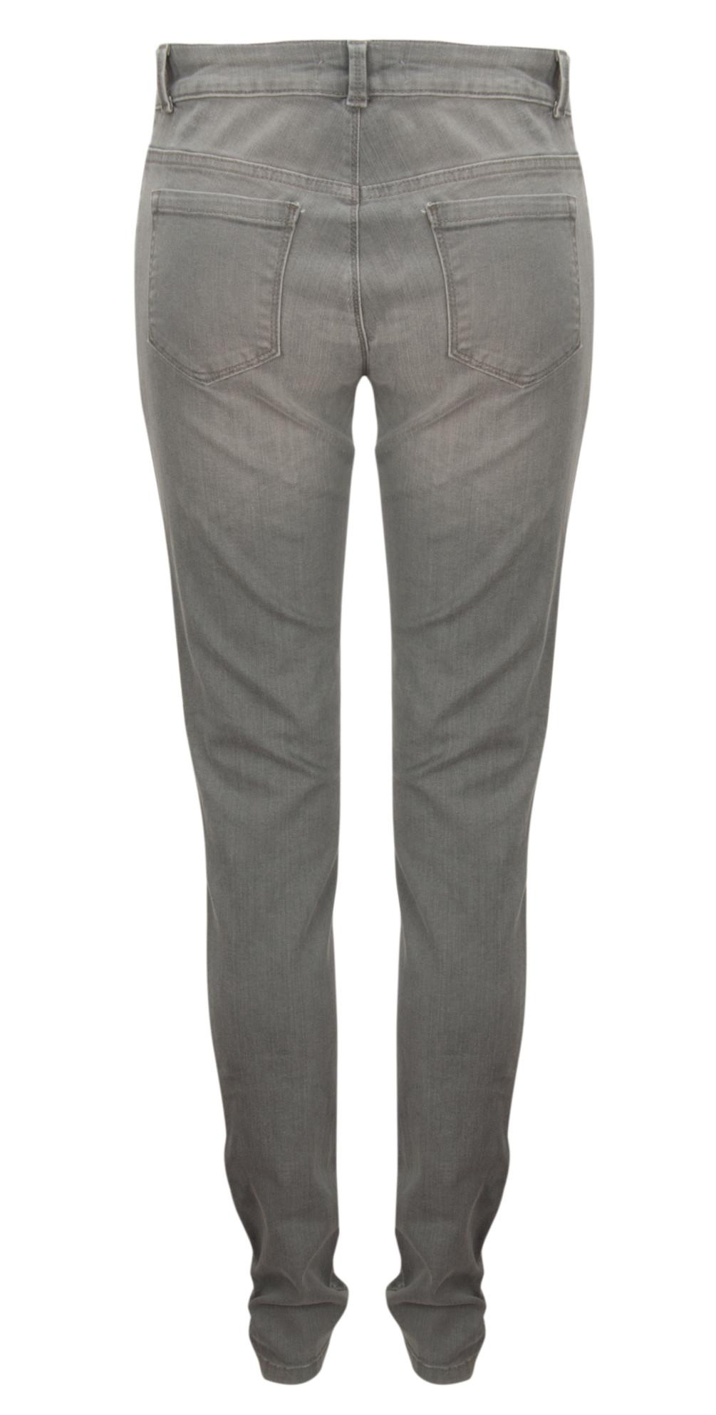NEW - Basic Light Denim Long Jeans main image