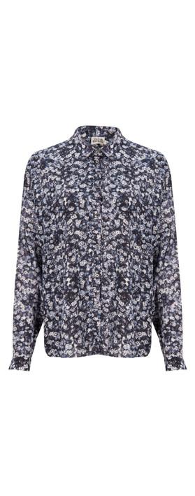 Twist & Tango Leona Shirt Blue Flower