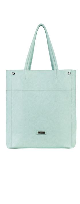 Sandwich Clothing Cord Closure Handbag Nile Blue