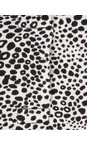 Sandwich Clothing Black Tiger Dots Dress