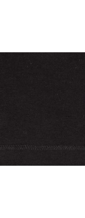 Sandwich Clothing Essential Three Quarter Sleeve T-shirt Black