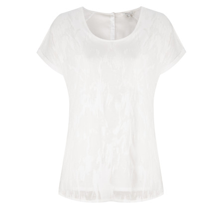 Sandwich Clothing Burnout Jersey Top - Off-white