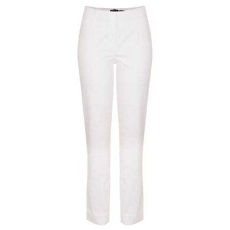 Robell Trousers Marie  Denim Jean A - White